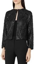 Reiss Dinah Embellished Jacket