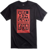 Volcom Men's Vibration Graphic-Print Logo T-Shirt