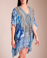 Camilla Power of Prayer Short Lace-Up Kaftan