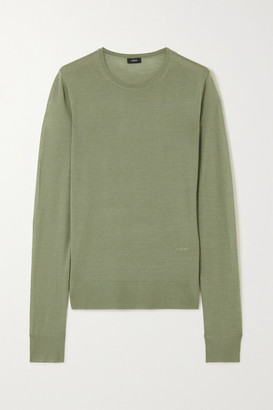 Joseph Wool Sweater - Green
