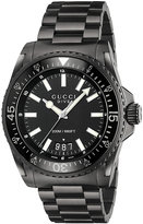 Gucci Watches Gucci Dive Men's Ion Plated Bracelet Watch
