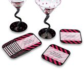Lillian Rose Lillian RoseTM Bachelorette Party 6-Piece Coaster Set