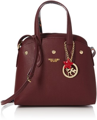 Piero Guidi Women's 210943089 Cross-Body Bag Red Red (Rosso Bulgaro V1)
