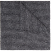Oliver Spencer Mélange Cotton Pocket Square - Gray