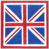 Caspari Union Jack Paper Luncheon Napkins, Pack of 20