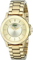Lacoste Women's 2000850 Madeira Gold-Tone Stainless Steel Watch