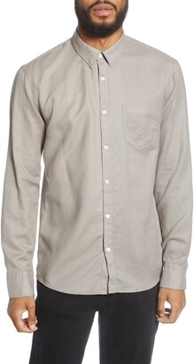 BHLDN Cori Solid Button-Up Shirt