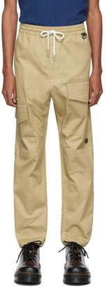 Wonders Tan Utility Cargo Trousers