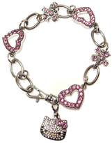 Hello Kitty Austrian Crystal Bracelet