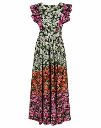 Mary Katrantzou Noor Stripe Valley Dress