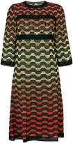 M Missoni knitted A-line dress
