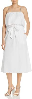 Joie Rindinya Scalloped Midi Dress