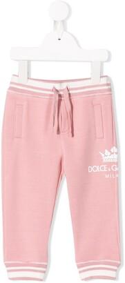 Dolce & Gabbana Kids Logo Track Pants