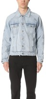 Current/Elliott Raglan Denim Jacket