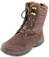 Easy Spirit Erle Women US 7 W Brown Snow Boot