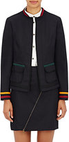 Tomas Maier Women's Denim Open-Front Jacket-NAVY