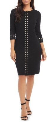 Karen Kane Studded Sheath Dress