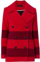 Rag & Bone Skye Stripe Pea Coat