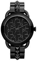 Karl Lagerfeld Black Multiple Logo Dial Bracelet Watch