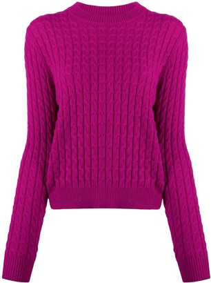 Sara Lanzi Cable Knit Jumper
