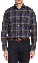 Tailorbyrd Men's Big & Tall Cullen Plaid Twill Sport Shirt