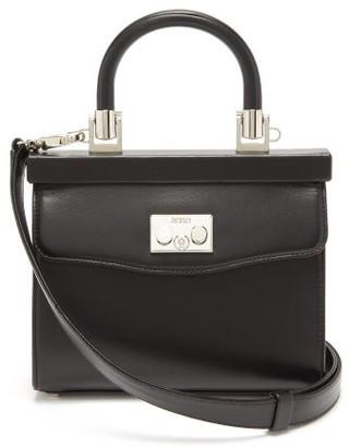 Rodo Paris Small Leather Handbag - Womens - Black