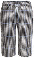 Oamc Houndstooth Shorts with Cotton
