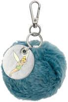 Cath Kidston Blue Pompom Keyring