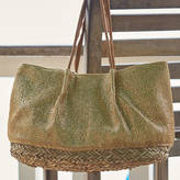 Aspiga Bora Bora Gold Mesh Beach Bag