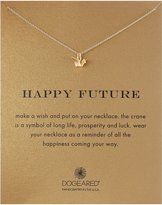 """Dogeared Sterling Happy Future Pendant Necklace, 18"""""""