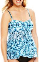 CHRISTINA MATERNITY Christina Tie-Dye Flyaway Bandeaukini Swim Top - Maternity