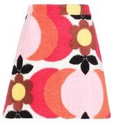 Miu Miu Exclusive to mytheresa.com – printed cotton-terry skirt
