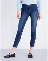 J Brand Zion skinny mid-rise jeans