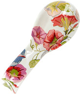 Mackenzie Childs Morning Glory Spoon Rest