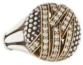 Lagos Diamond Caviar Ring