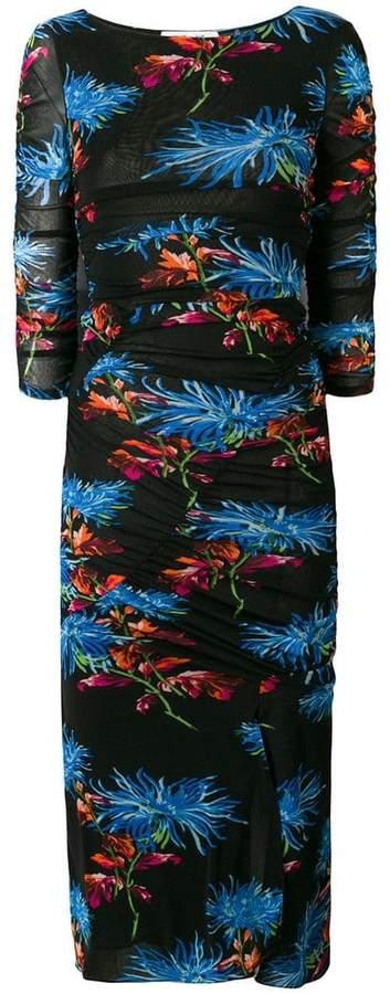 Diane von Furstenberg floral printed dress