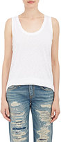 Barneys New York Women's Slub Jersey Tank-WHITE
