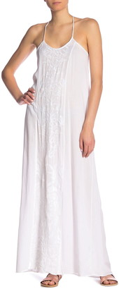 BOHO ME Embroidered Cover-Up Maxi Dress