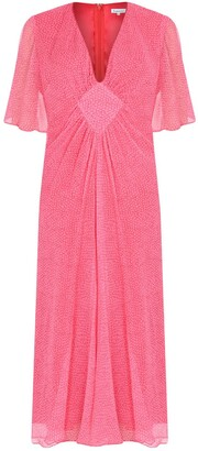 Libelula Jessie Dress Salmon Organic Print