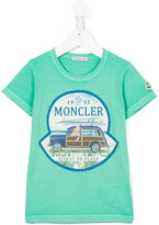 Moncler logo print T-shirt - kids - Cotton - 4 yrs