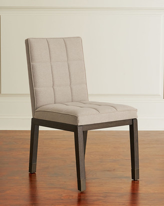 Hooker Furniture Pair of Brikelle Tufted Side Chairs