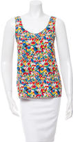 Cacharel Printed Sleeveless Top