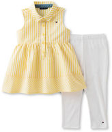 Tommy Hilfiger Two-Piece Striped Tunic and Capris Set