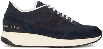 Common Projects Track classic navy suede sneakers