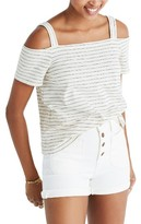 Madewell Women's Avery Cold Shoulder Top