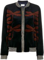 Yves Salomon dragonfly crew neck jacket
