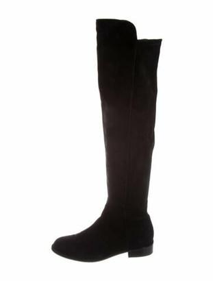 Stuart Weitzman Suede Boots Black