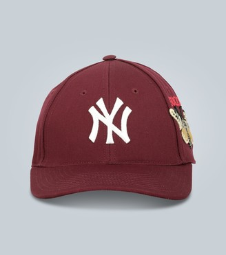 Gucci Baseball cap with NY Yankeesa patch