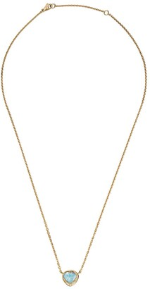 Brooke Gregson 18kt Yellow Gold Diamond Opal Necklace