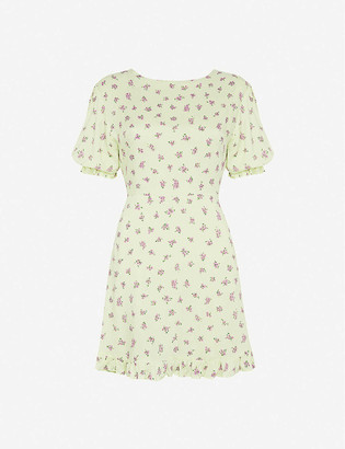 Faithfull The Brand Florence floral-print crepe mini dress